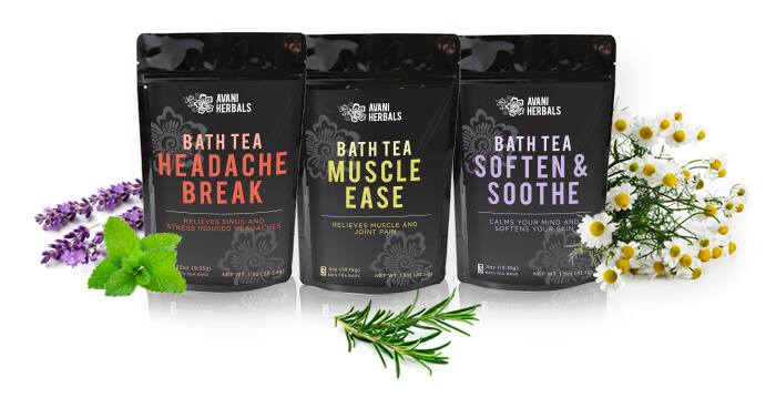 Bath Teas Category